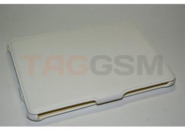 Сумка футляр-книга Armor Case Lux для iPad mini (белая)