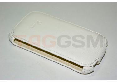 Сумка футляр-книга Armor Case для HTC Desire V / T328W (Lux белая в коробке + плёнка)