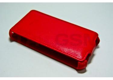 Сумка футляр-книга Armor Case для HTC EVO 3D (Luxкрасная в коробке + плёнка)