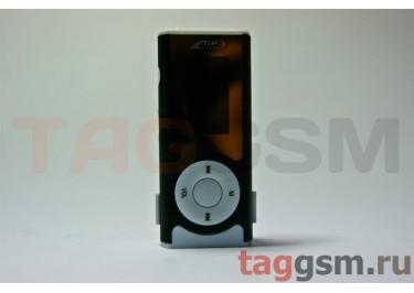 MP3 плеер-LCD+FM+внешний динамик (слот MicroSD+наушник+кабель для зар) черный (№4)