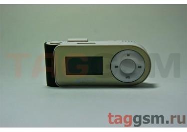 MP3 плеер-LCD+FM+внешний динамик (слот MicroSD+наушник+кабель для зар) черный (№5)