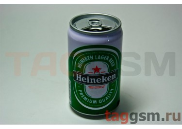 Колонка игрушка баночка Heineken (FM,USB,TF)