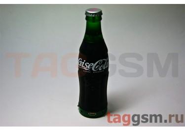 Колонка игрушка бутылка Coca Cola (FM,USB,TF) черная