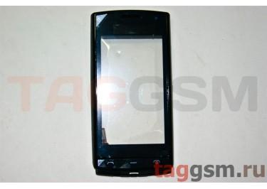 Тачскрин для Nokia 500 (черный) с рамкой