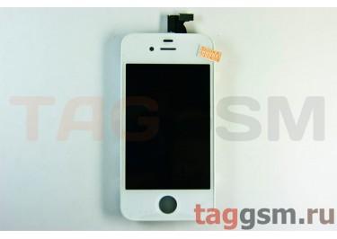 Дисплей для iPhone 4S + тачскрин белый AAA