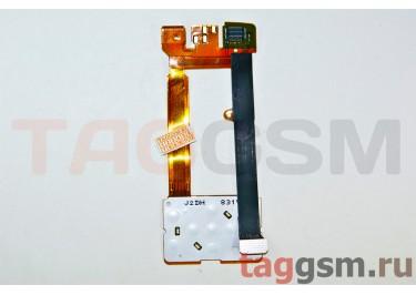 Шлейф для Nokia 3600s + мамбрана, ОРИГ100%