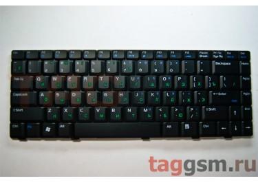 Клавиатура для ноутбука Asus W3J / W3N / W3000 / W6A / W6000 / V6V / VX1 / V6000 / A8 / F8 / N80 /  Z99 / X80L (черный)