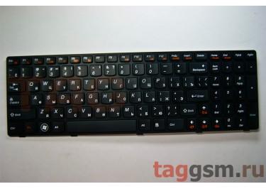 Клавиатура для ноутбука Lenovo V570 / B570 / B580 / B590 / V570A / V570C / V570CA / V570G / V570GL / Z570 / Z575 (черный)