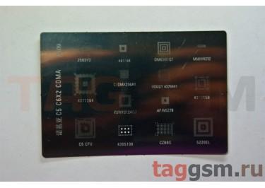 Трафарет BGA для Nokia C5 / C6 / X2 (A409)