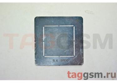 Трафарет BGA 0.40мм 50x50 (универсальный)