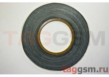 Скотч 3M двухсторонний 50м х 3мм (черный), High Copy