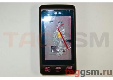 Корпус LG KP500 (коричневый)