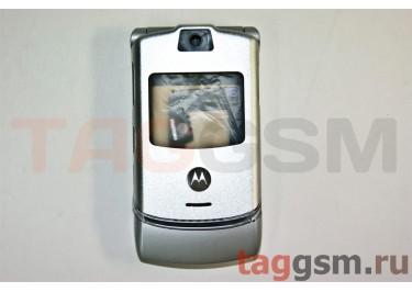 корпус Motorola V3 (серебро)