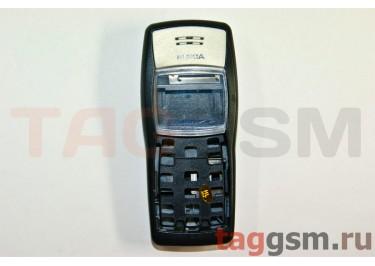 корпус Nokia 1100 (со средней частью) (черный)