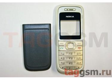 Корпус Nokia 1200 / 1208 панель белый + кнопки AAA