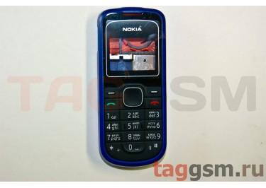 Корпус Nokia 1202 со средней частью + клавиатура (синий)