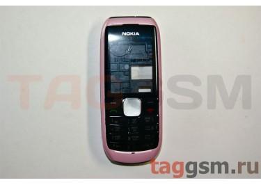 Корпус Nokia 1800 со средней частью + клавиатура (розовый)