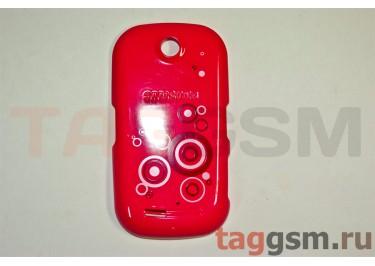 Задняя крышка для Samsung S3650 (розовый)
