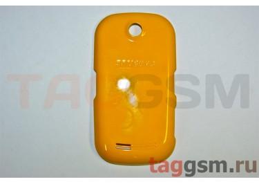 Задняя крышка для Samsung S3650 (желтый)