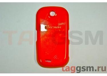Задняя крышка для Samsung S3650 (оранжевый)