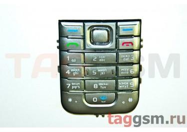 клавиатура Nokia 6233 серебро AAA