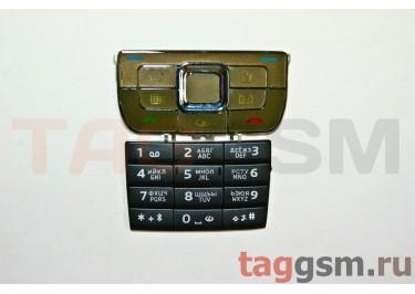 клавиатура Nokia E66 коричневая