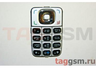 клавиатура Nokia 6125 черно-серебристая