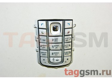 клавиатура Nokia 6230i серебро