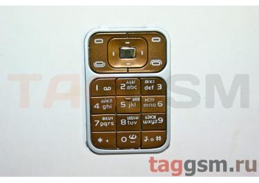 клавиатура Nokia 7390 кофейная