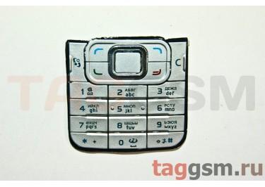 клавиатура Nokia 6120 classic серебро AAA