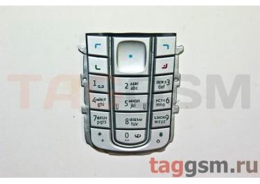 клавиатура Nokia 6230 серебро AAA