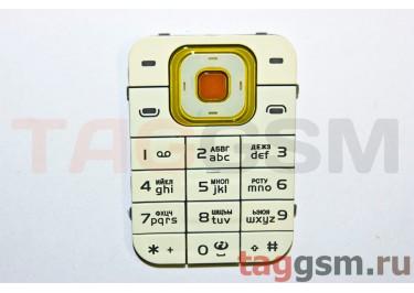 клавиатура Nokia 7370 золото AAA