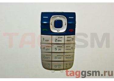 клавиатура Nokia 2660 черно-серебристая