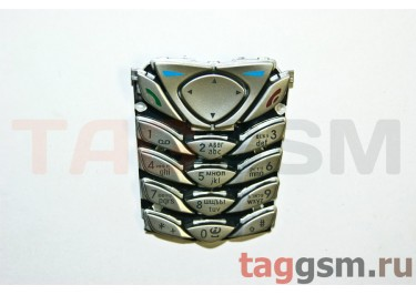 клавиатура Nokia 6100 серебро