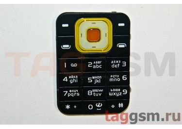 клавиатура Nokia 7370 коричнев AAA
