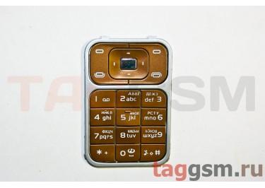 клавиатура Nokia 7390 коричневый AAA