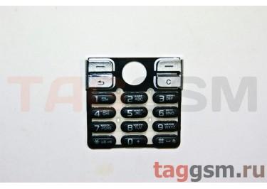 клавиатура Sony-Ericsson K510 черные