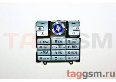 клавиатура Sony-Ericsson K610 серебро