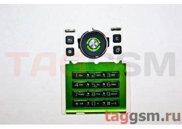 клавиатура Sony-Ericsson S500 зеленая