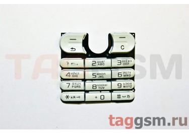 клавиатура Sony-Ericsson W200 / W220 белая