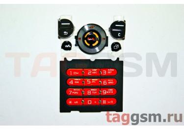 клавиатура Sony-Ericsson W580 черно-оранжевые