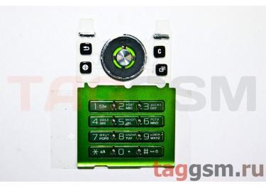 клавиатура Sony-Ericsson S500 зелёный AAA