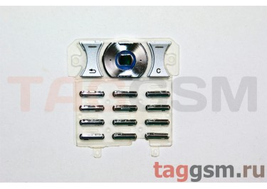 клавиатура Sony-Ericsson K550 серебро
