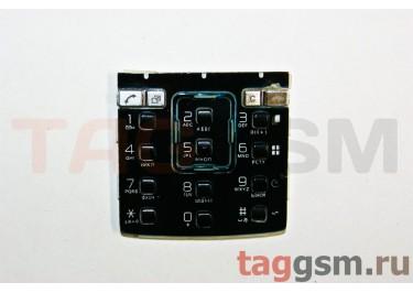клавиатура Sony-Ericsson K850 черно-синяя