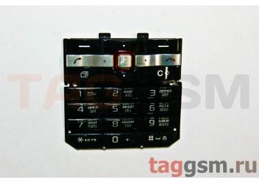 клавиатура Sony-Ericsson T707 черная
