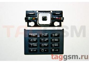 клавиатура Sony-Ericsson T715 (серебристо-черная)