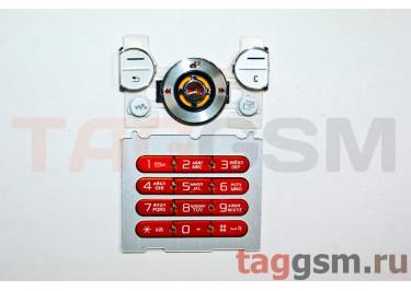 клавиатура Sony-Ericsson W580 белые