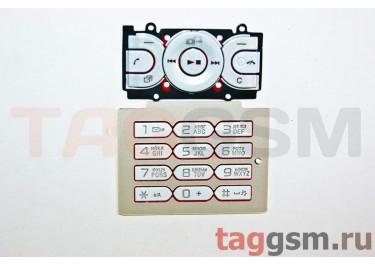 клавиатура Sony-Ericsson W595 белая