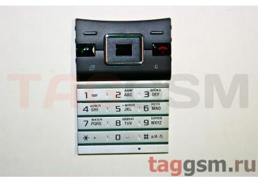 клавиатура Sony-Ericsson J20i черный / серебро AAA