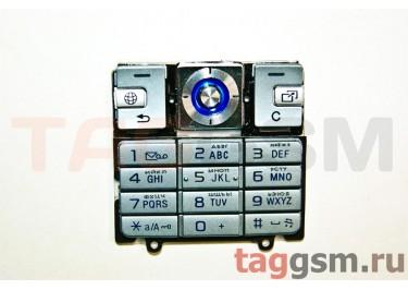 клавиатура Sony-Ericsson K610 серебро AAA